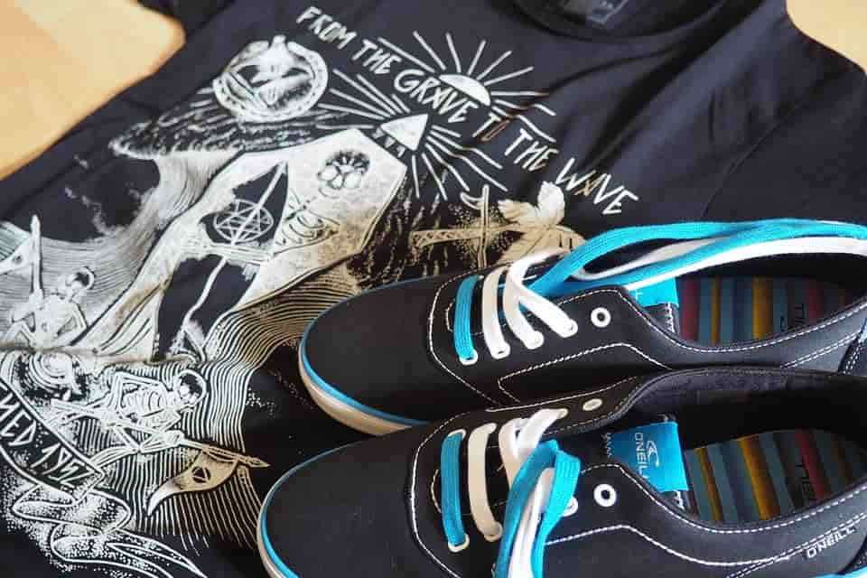 tornacipő